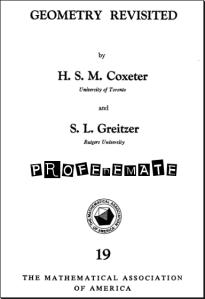 Geometria revisitada coxeter